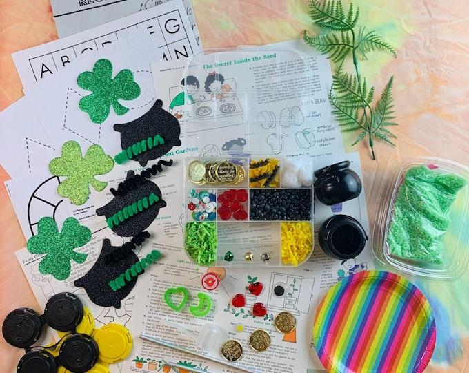 St. Patrick's Sensory Play in a Bag & Kit