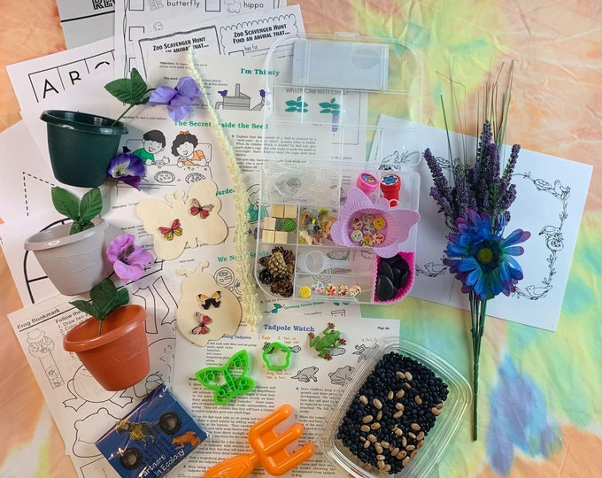 In the Garden 2 Sensory Play in a Bag & Kit