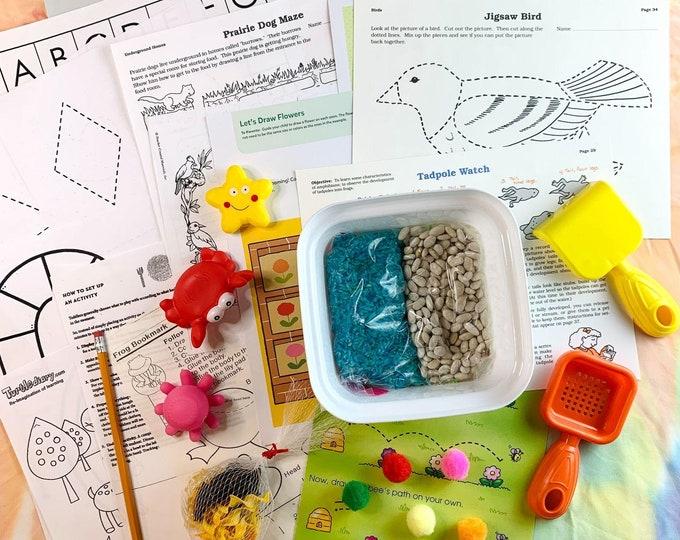 Baby Ocean Fun Sensory Play in a Bag & Kit