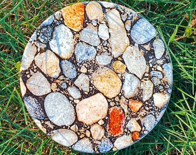 River Rock Inspired Coasters | One-of-a-kind