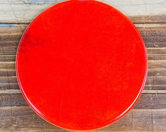 Lava Red Inspired Coasters   One-of-a-kind