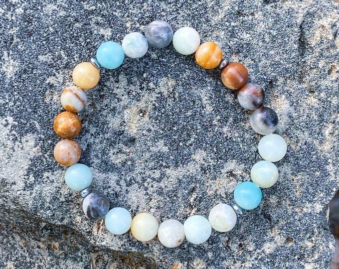 Amazonite Stone Bracelet (inspired by Dear Heart)