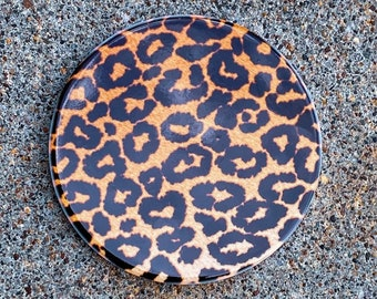 Leopard Print Inspired Coasters | One-of-a-kind (inspired by Dear Heart)