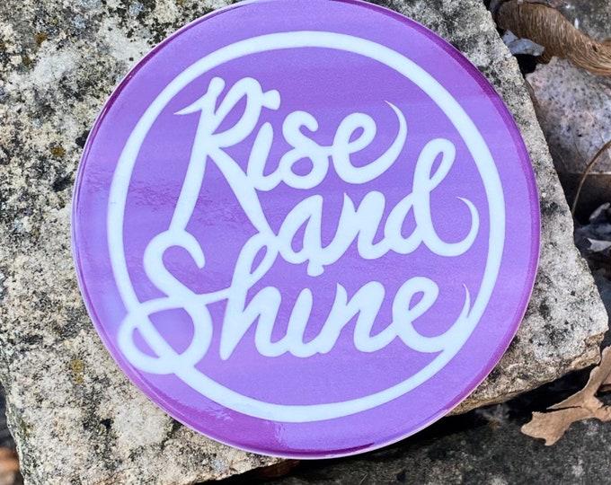 Rise and Shine Coasters | Purple Style