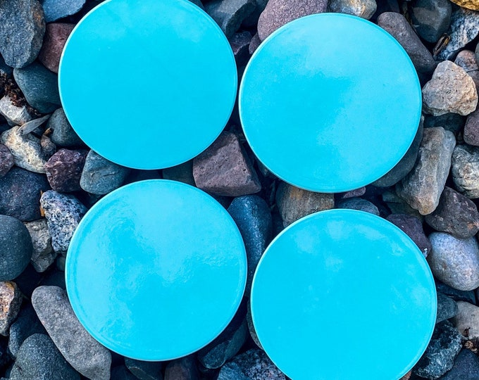 Teal Inspired Coasters