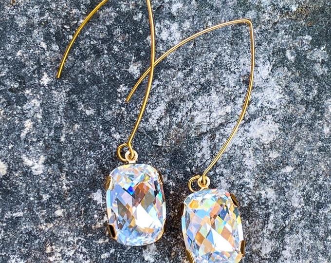 Passion Crystal Swarovski Drop Earrings (inspired by Dear Heart)