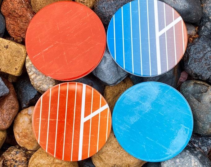 Retro Inspired Coasters | Full Set
