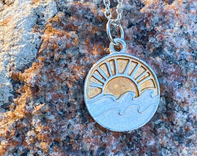 Sweet Sunshine Pendant Necklace (inspired by Dear Heart)