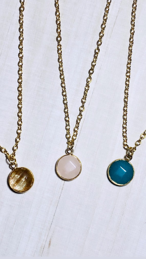Sweet Traditions Faceted Charm Necklace