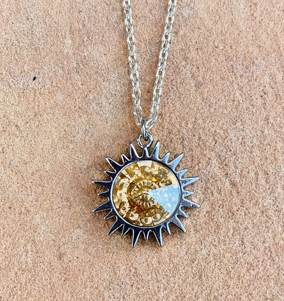 Swarovski Sunshine Crystal Necklace