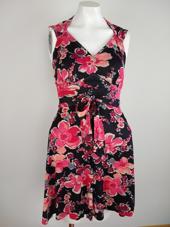 Adorable 1970s Floral Minidress
