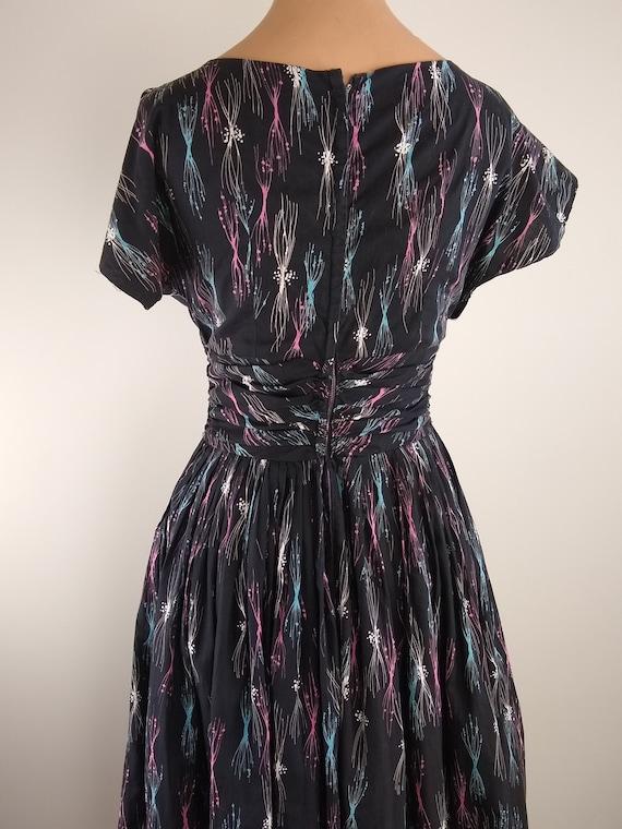 50s cotton dress - image 3
