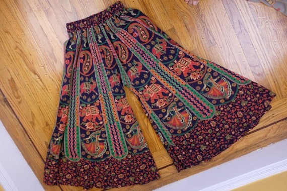 Luxurious 1960s Indian Palazzo Pants