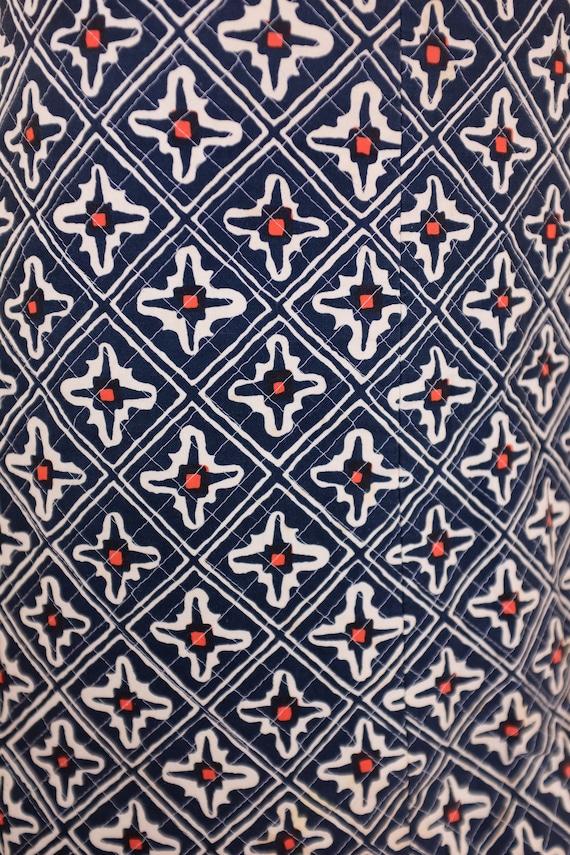1970s Marimekko Quilted Skirt - image 3