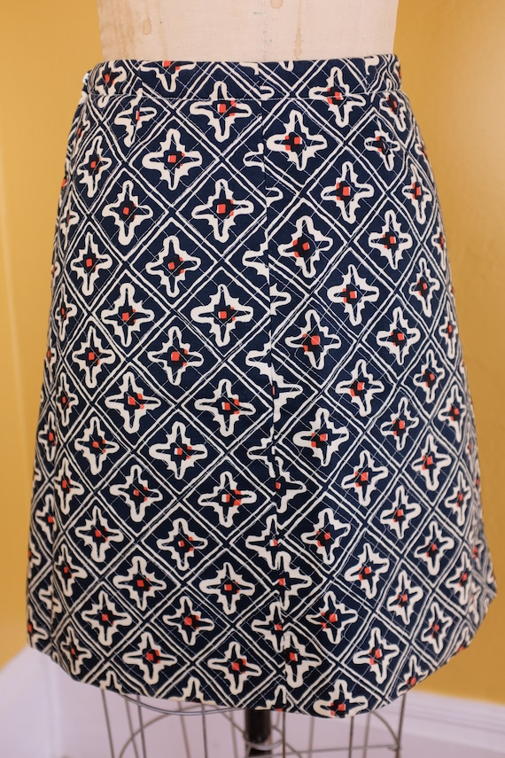 1970s Marimekko Quilted Skirt - image 2