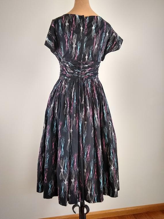 50s cotton dress - image 2