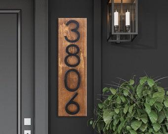 Address Plaque, Number Sign, Address Numbers, Address Sign, House Number Plaque, House Number Sign - House Plaque Wood,
