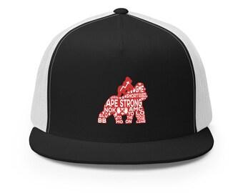 To the Moon, AMC, Stonk, APE STRONG, Trucker Cap, baseball hat