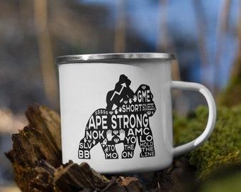 To the moon, AMC, APE Strong, HODL Wallstreetbets Mug