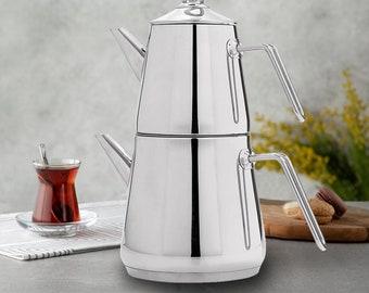 Tea Maker 4 Colors Nurdanil Turkish Teapot Teapot Set,Teamaker Kettle set