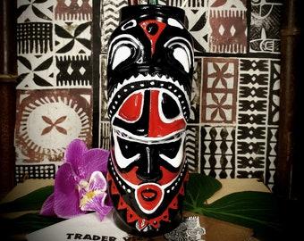 Hand Painted Trader Vic's Notu Tiki Mug, Original Trader Vic's Logo by The Kon-Tigo Tiki Bar