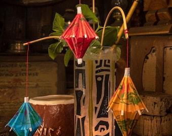 Hanging Chinese Lantern Pick 25 Pack