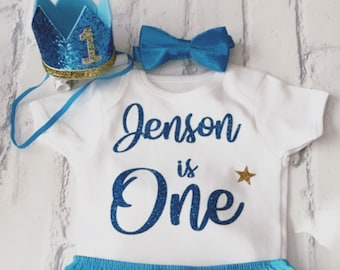 Etsy One Year Old Birthday Outfit Boy