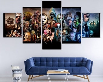 The Thing Classic Horror Movie Silk Canvas Poster Shop Room Decal Print 24x36/'/'