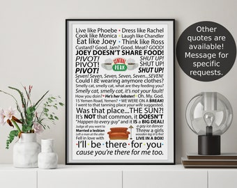 Friends inspired Poster