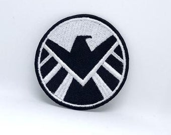 Comic Character Marvel Avengers and DC Comics Iron or Sew on Embroidered Patches AVENGERS UNIFORM