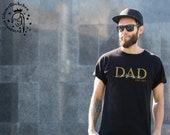 Papa Bügelbild mit Kindernamen personalisiert