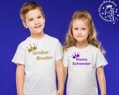 Großer Bruder & kleine Schwester Bundle Bügelbilder