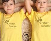 Kleiner & Großer Bruder Bundle Bügelbilder