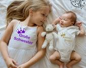 Große Schwester & kleiner Bruder Bundle Bügelbilder