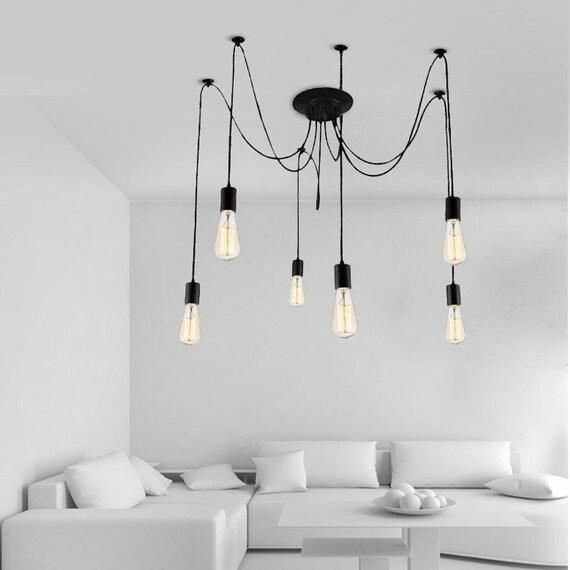 Multi pendant light Octopus chandelier 3 5 Hanging lights Industrial Lighting Spider chandelier Pendant lighting Industrial Chandelier
