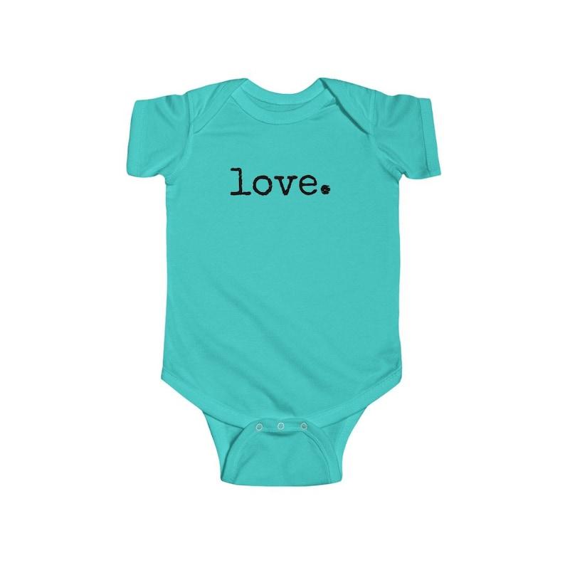 baby love Infant Fine Jersey Bodysuit