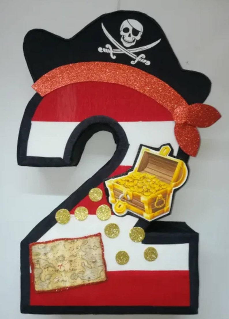 Pirate pinata pirates party themed pirate birthday decorations pirate party