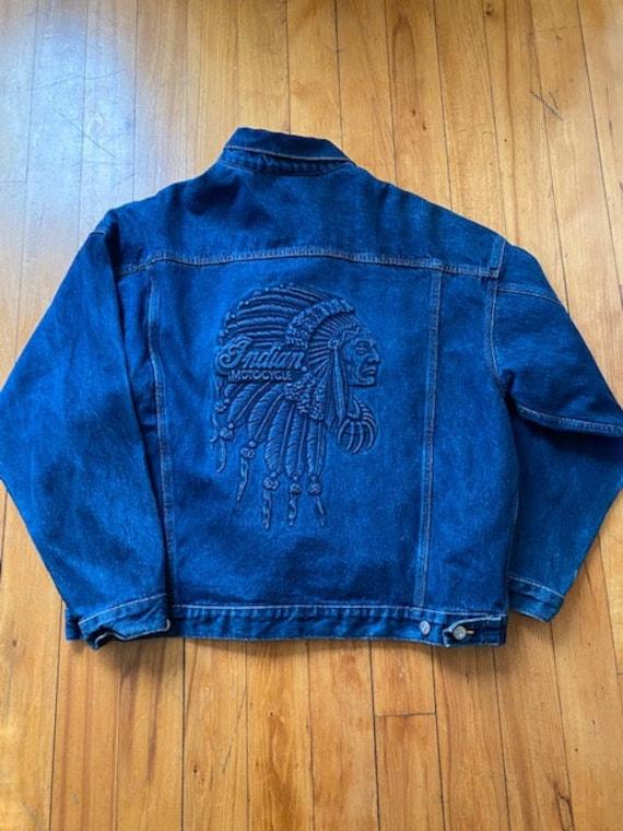 Indian Motorcycle Denim Jacket