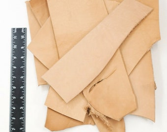 "ELW Natural Veg Tan Tooling Cowhide Leather Pre-Cut Piece 12/""x24/"" 5//6 oz 2.4mm"