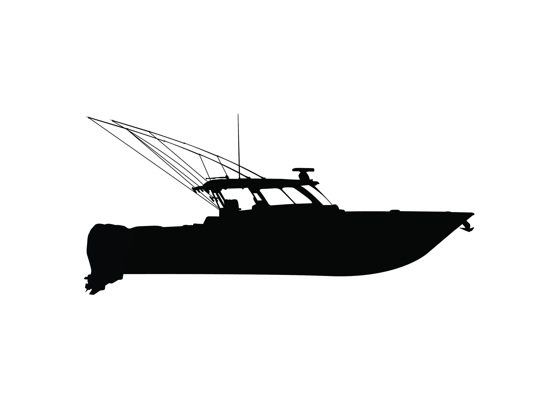 Download Boat Svg Png Jpeg Offshore Fishing Boat Digital Download Clip Etsy