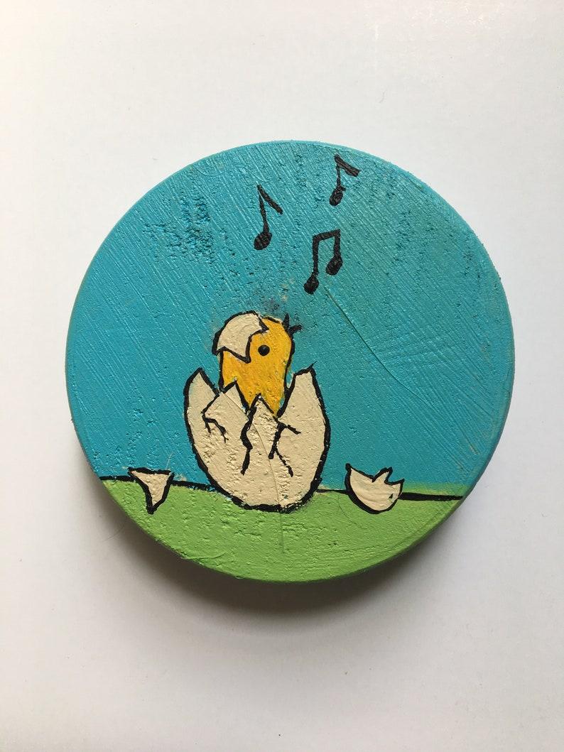 Hatching Chick Singing
