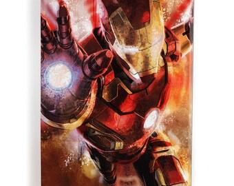 Iron man pop art table