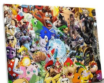 Table Super Hero Geek Pop Art
