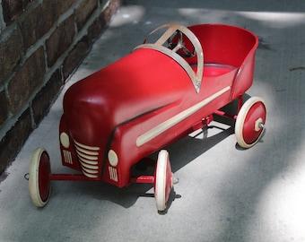 Vintage 1940's Replica Garton Racer Pedal Car