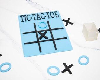 Tik Tac toe game set - Travel game set - Family game night - board game
