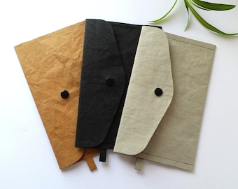 Small bag made of washable paper leather,Storage bag,FFP2 & mask bag,Cosmetic bag,Glasses case,Snappap,Wallet,Wallet