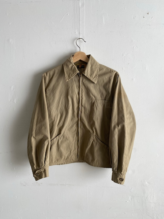 Vintage 60's Montgomery Ward Cinch Jacket