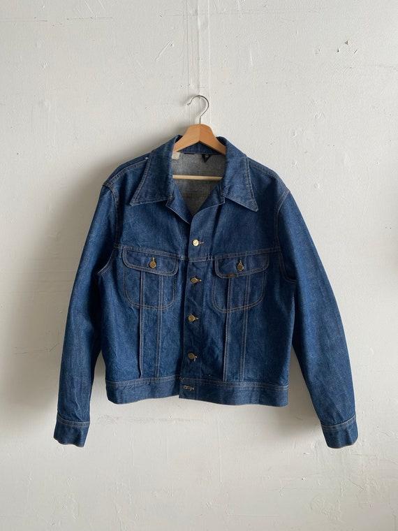 Vintage 1970's Lee Denim Jacket Size XL