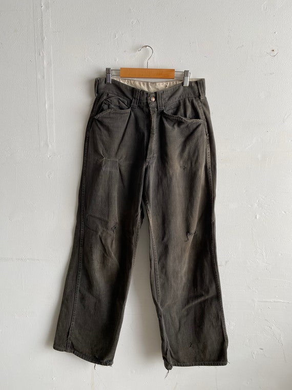 Vintage 60's Pay Day Work Pant's