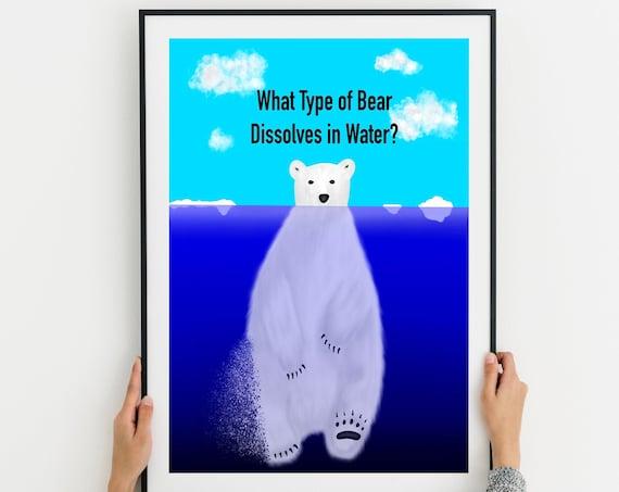 Polar Bears Dissolve Printable Download
